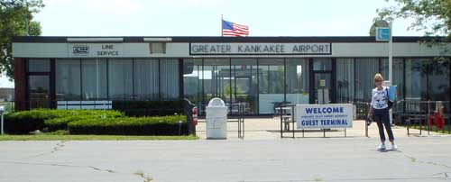 Kankakee Airport, a short pit stop