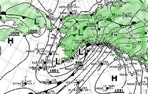 Surface Weather Situation of August 12